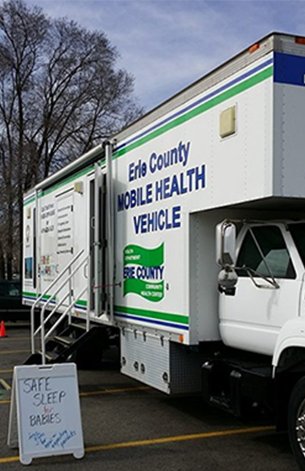 Erie County Mobile Health unit, part of their outreach services (Sandusky, OH)