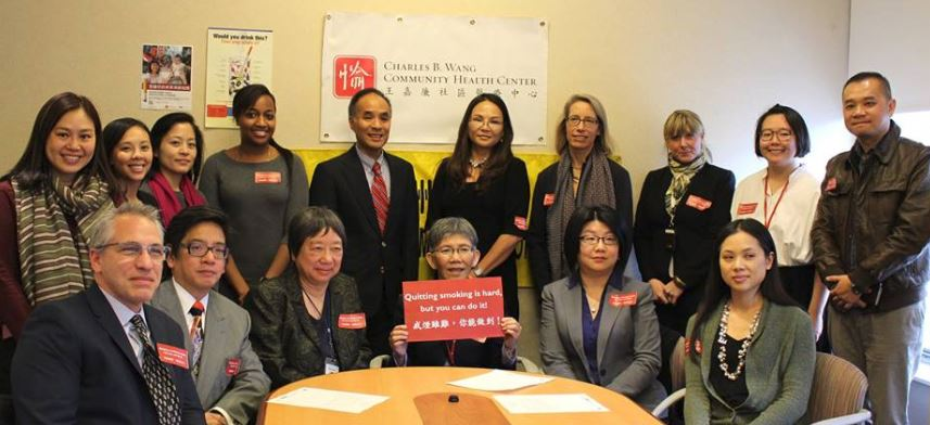 "Charles B. Wang CHCs ""Community Action on Smoking and Health"" initiative (New York, NY)"